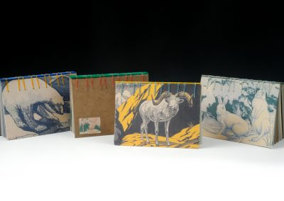 Wildlife Vintage Postcards Journal