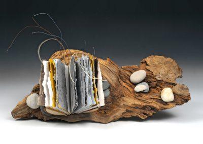 A Book Adrift, 5 ½ x 14