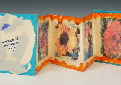 """Book created by Judy Folkenberg titled """"All the Pretty Flowers."""""""