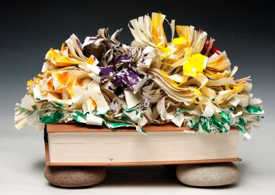 Paper Flowers, 9 x 6 x 9
